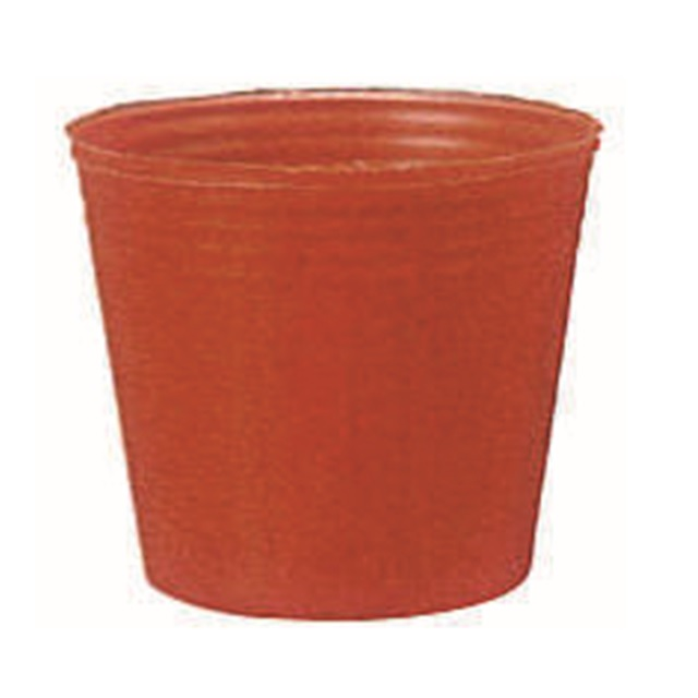 カラーポット 赤