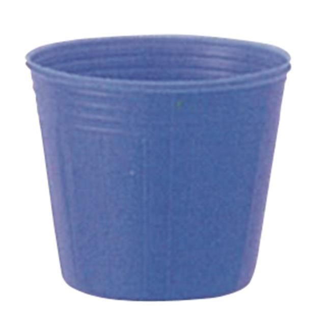 カラーポット 青