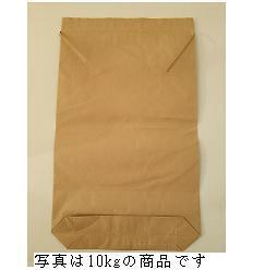 クラフト米袋(無地)紐付き