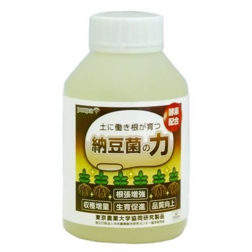納豆菌の力